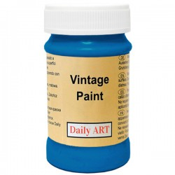 Chalky Acrylic paints Dark Blue (100 ml)