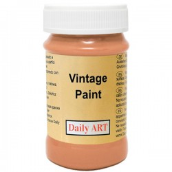 Chalky Acrylic paints Orange (100 ml)