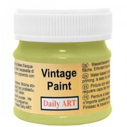 Kreidiniai akriliniai vintažiniai dažai Avokado žalia (50 ml)