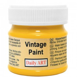 Chalky Acrylic paints Dark Yellow (50 ml)
