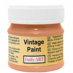 Chalky Acrylic paints Orange (50 ml)