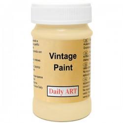 Kreidiniai akriliniai vintažiniai dažai Smėlio (100 ml)