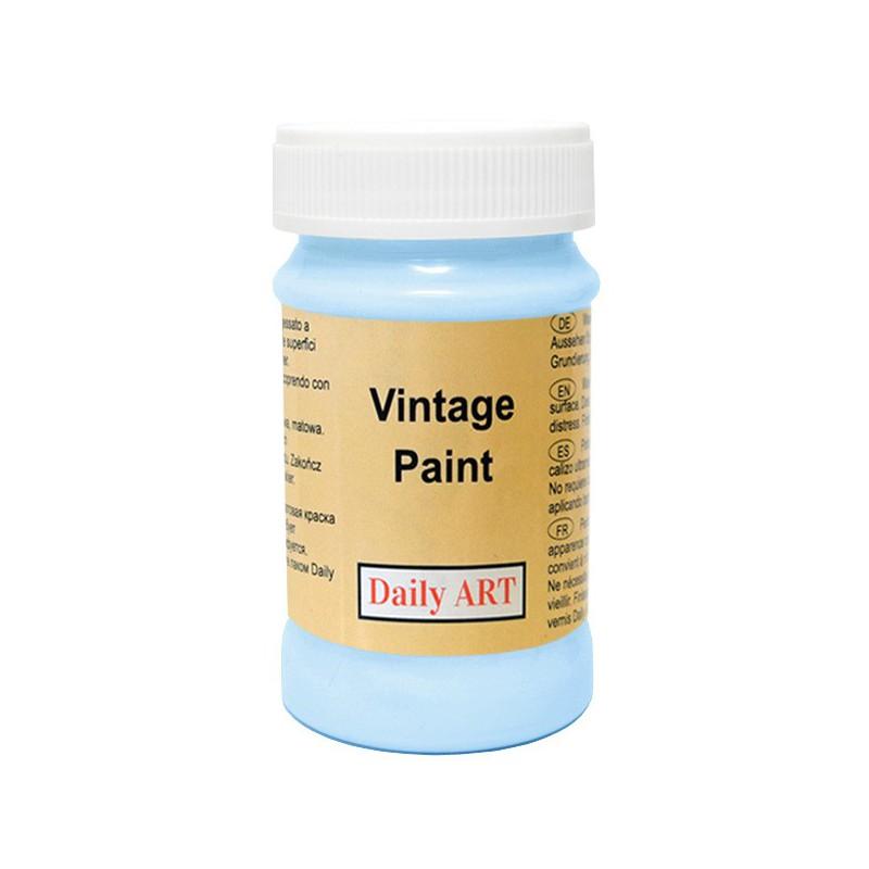 Kreidiniai akriliniai vintažiniai dažai Ryto žydra (100 ml)