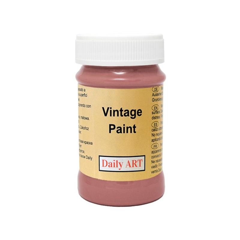Kreidiniai akriliniai vintažiniai dažai Sepija (100 ml)