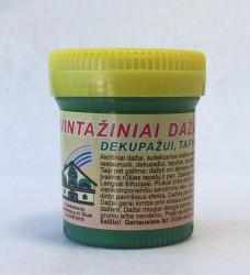 Vintažiniai dažai AKRILEN Žalia (60 ml)