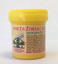 Vintažiniai dažai AKRILEN Geltona (60 ml)