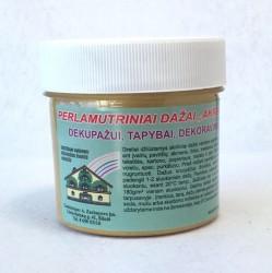 Perlamutriniai dažai AKRILEN Auksas (120 ml)
