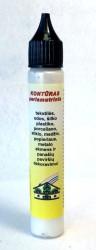Perlamutrinis kontūras AKRILEN Balta (30 ml)