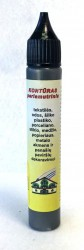 Perlamutrinis kontūras AKRILEN Juoda (30 ml)