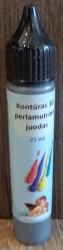 Kontūras 3D perlamutrinis juodas (25 ml)