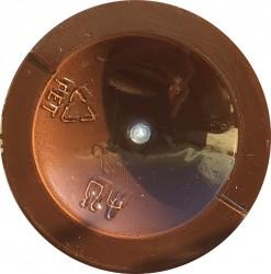 Matiniai dažai – pigmentai AKRILEN Tamsiai ruda (120 ml)