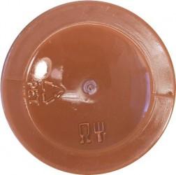 Mat paint Bright brown (120 ml)