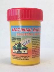 Matiniai dažai – pigmentai AKRILEN Geltona (60 gr)