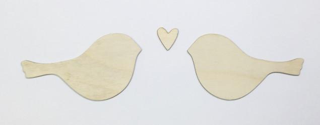 Paukšteliai ir širdelė (3 dalys)