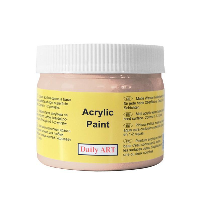 Matiniai akriliniai dažai Baltos kavos (300 ml)