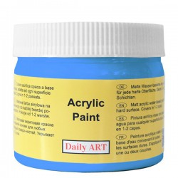 Matiniai akriliniai dažai Mėlyna (300 ml)