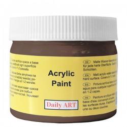 Matiniai akriliniai dažai Tamsiai ruda (300 ml)