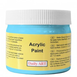 Acrylic paints Baby blue (300 ml)