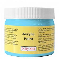 Matiniai akriliniai dažai Žydra (300 ml)