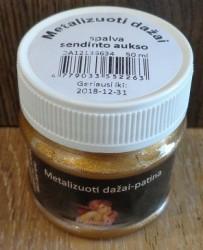 Metalizuoti dažai sendintas auksas (50 ml)