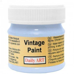 Chalky Acrylic paints Morning blue (50 ml)