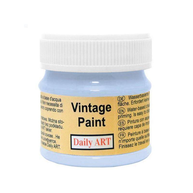 Kreidiniai akriliniai vintažiniai dažai Ryto žydra (50 ml)