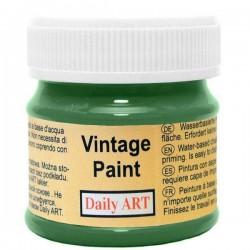 Kreidiniai akriliniai vintažiniai dažai Miško žalia (50 ml)