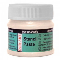 Stencil Paste pearl Cream (50 ml)