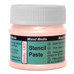 Pasta Trafaretams perlamutrinė Lašišos (50 ml)