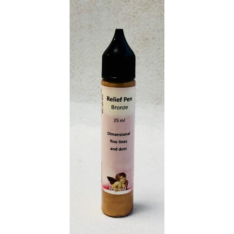 Reljefinis kontūras Bronzinis (25 ml)