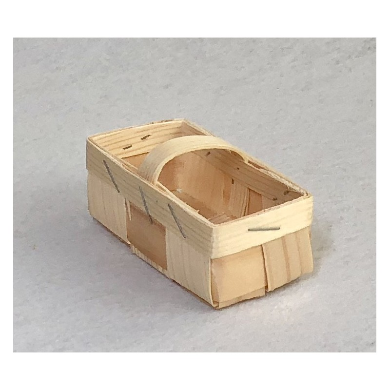 Krepšelis iš medžio drožlių (mini)