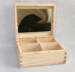 Dėžutė su veidrodžiu (4 skyr)