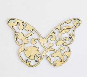Gėlėtas drugelis (mažas)