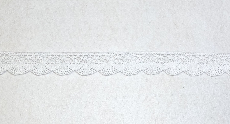 Medvilninė juostelė Balta (1 m)