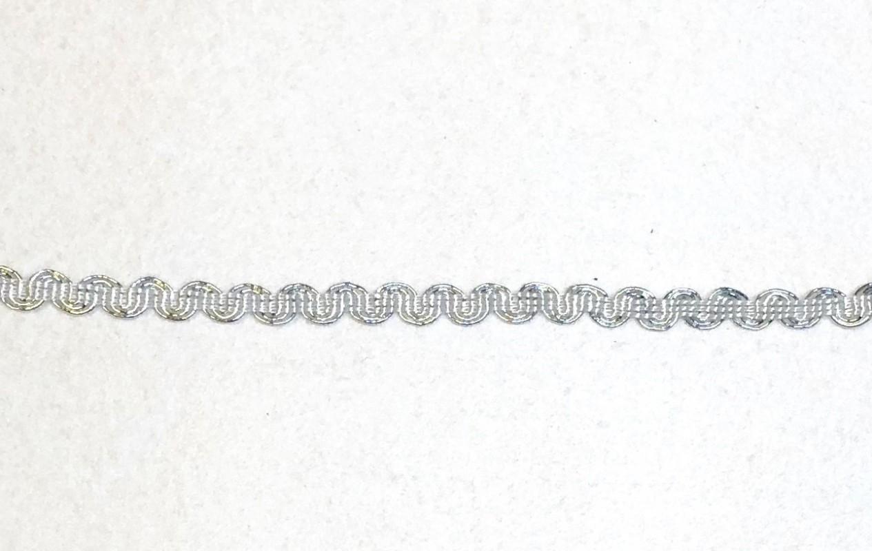 Juostelė sidabrinė (1 m)