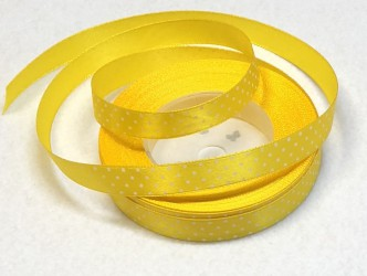Satin Ribbon Yellow (1m)