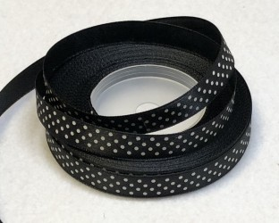 Satin Ribbon Black (1 m)