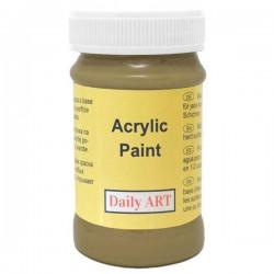 Matt acrylic paint Olive (100 ml)