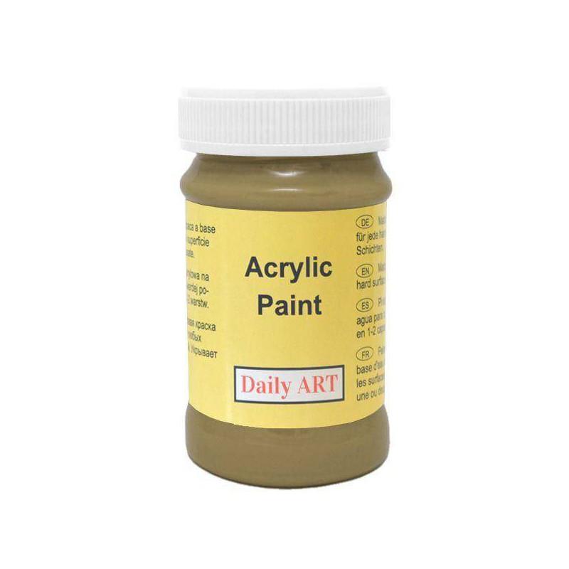 Matiniai akriliniai dažai Alyvuogės (100 ml)