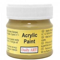 Matt acrylic paint Olive (50 ml)