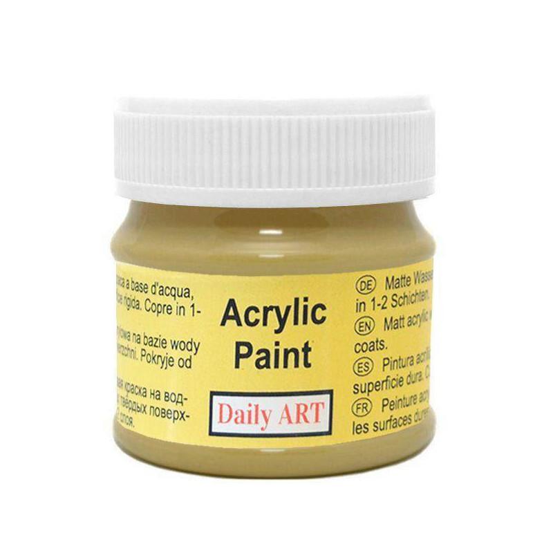 Matiniai akriliniai dažai Alyvuogės (50 ml)