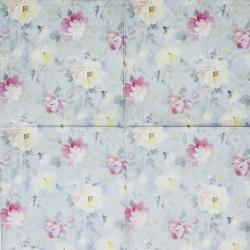 Servetėlė Pastelinės gėlės