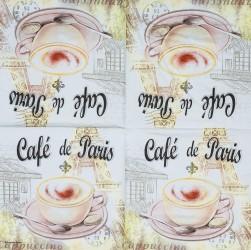 Napkin Coffee in Paris