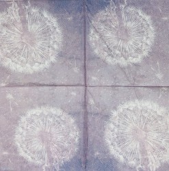 Servetėlė Pūkas violetinis