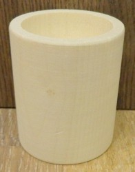 Žvakidė ritinys (6 cm aukščio)