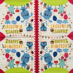 Napkin Birthday