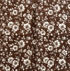 Napkin Flowers (brown)