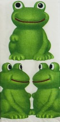 Paper napkin Frog