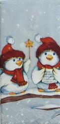 Popierinė nosinaitė Sniego paukščiai