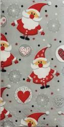 Popierinė nosinaitė Kalėdų senelis